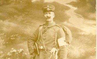 Iveras Henningsenas fotografuota 1915 m. Iš Henningsenų šeimos archyvo