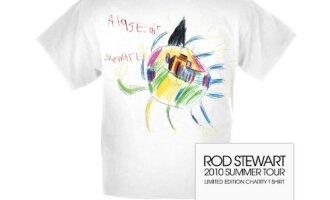 Naujieji Rodo Stewarto koncertinio turo marškinėliai