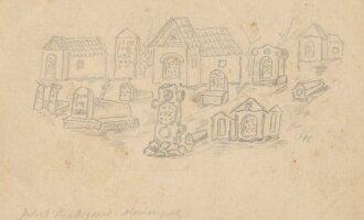 Žydų kapinės Marijampolėje. Iš Henningsenų šeimos archyvo