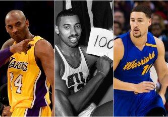 Didžiausi vieno žmogaus šou NBA istorijoje: nuo K. Thompsono iki W. Chamberlaino