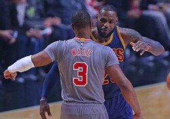 """Su """"Bulls"""" išsiskyręs D. Wade\'as už """"centus"""" prisijungs prie L. Jameso?"""