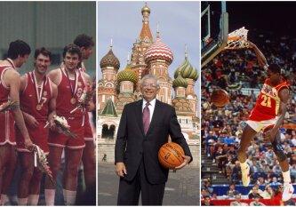 """Kelionė, visiems laikams pakeitusi NBA: legendos apie """"Hawks"""" viešnagę SSRS sklando iki šiol"""