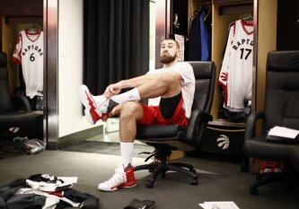 Geriausių NBA krepšininkų šimtukuose J. Valančiūno pozicijos – kuklios
