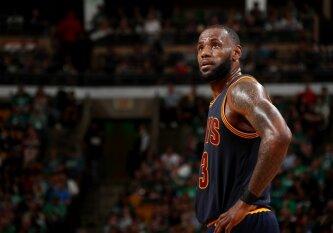 NBA paskelbė favoritus: į sezono MVP titulą L. Jamesas nepretenduoja
