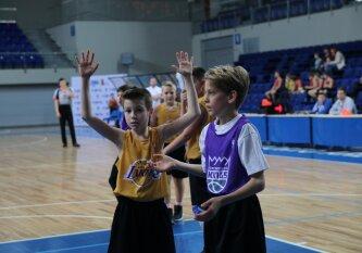 """""""Jr. NBA Lietuva"""" čempionate baigėsi pirmojo etapo kovos"""