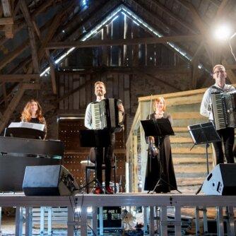 Pažaislio muzikos festivalis. Akimirka iš koncerto. J. Levinaitės ir S. Lukoševičiaus nuotr.