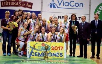 Vilniaus KM jaunių komanda – Lietuvos čempionės (MKL)