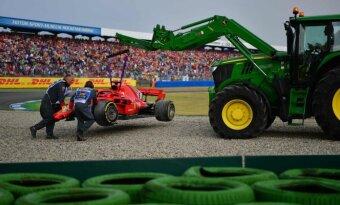 F-1, Vokietijos etapas, Sebastianas Vettelis