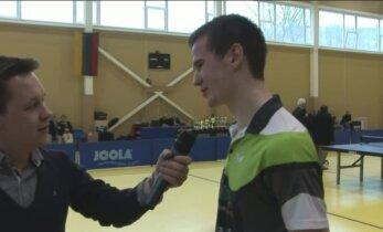 Lietuvos stalo teniso čempionate - lengvas E.Stuckytės pasivaikščiojimas finale ir A.Udro triumfas