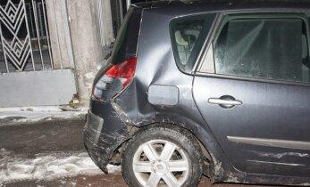Į avariją pateko vicemero vairuojamas automobilis