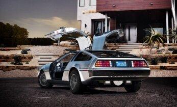 """Kultiniai """"DeLorean DMC-12"""" sugrįžta"""