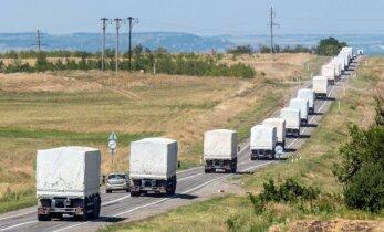 """Tikina žinantis, kodėl Rusijos """"humanitarinės pagalbos"""" konvojai atvyksta pusiau tušti: mačiau pats"""