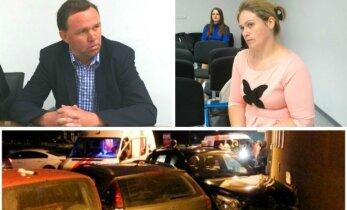 Girtutėlis verslininkas važiavo pirkti vaistų: sutraiškė 4 automobilius, sužalojo jauną motiną