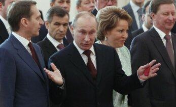 Politikas: dabar V. Putinas – šokiruotas