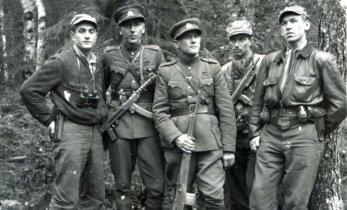 Pradeda pasakojimų ciklą apie pokario partizanus