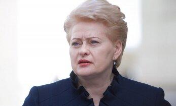 D. Grybauskaitė: Vilniui tenkanti GPM dalis gali ir sumažėti