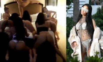 Naujo vaizdo klipo anonsą pristačiusi N. Minaj privertė aiktelėti (N18!)