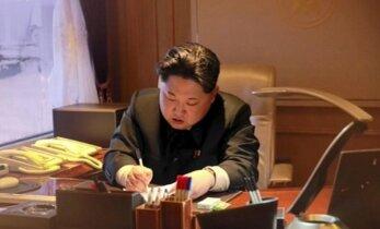 JAV žada naujas sankcijas Šiaurės Korėjai