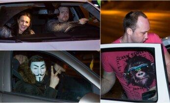 Naktinis reidas Vilniuje: labiausiai nepasisekė įkaitusiam vairuotojui ir merginai iš Kazachstano