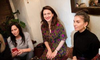 Žymios moterys išbandė persų žiemos pasitikimo ritualą