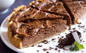 Šokoladinis maskarponės pyragas