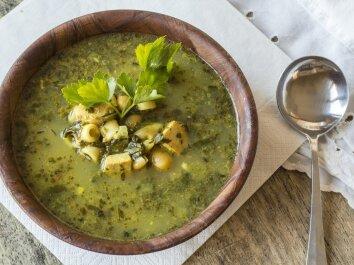 Prancūziška vištienos ir cukinijų sriuba