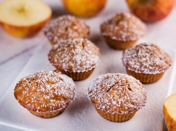 VISO GRŪDO keksiukai su obuoliais ir cinamonu