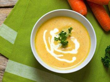 Šalta morkų sriuba