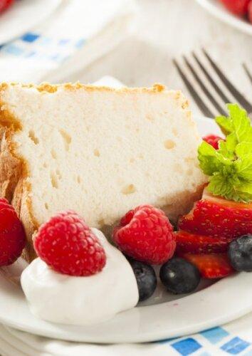 """Tobulai purus pyragas """"Angelų maistas"""""""