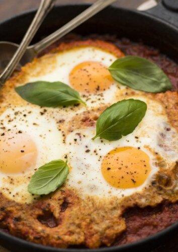Kepti kiaušiniai kitaip