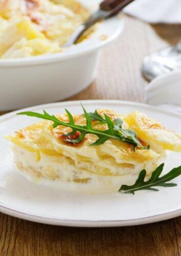 Bulvės, keptos pagal prancūzišką receptą