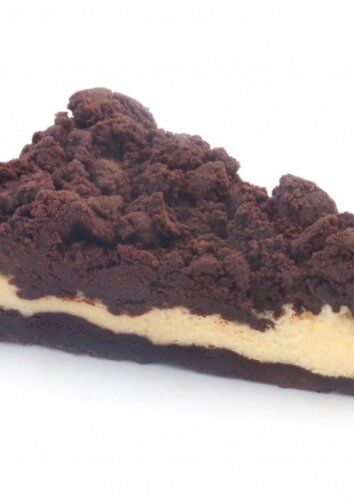 Varškės ir šokolado pyragas
