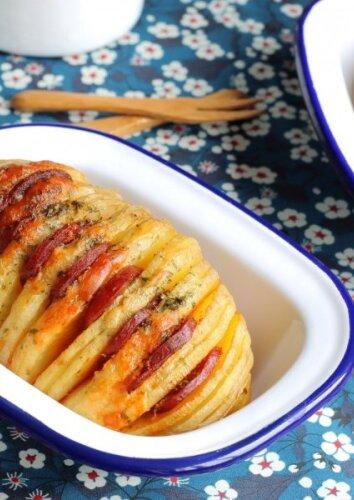 """Sočios bulvių """"armonikėlės"""""""