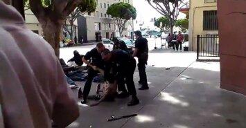 Los Andželo policija