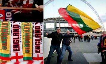 Wembley prieigos prieš Anglijos ir Lietuvos rinktinių rungtynes