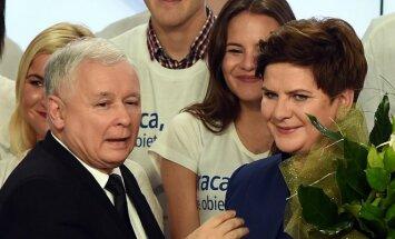 Jaroslawas Kaczynskis, Beata Szydlo