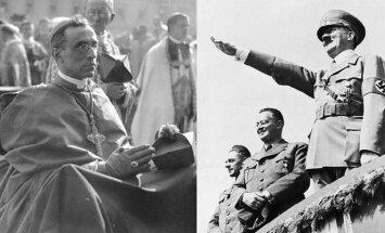 Popiežius Pijus XII ir Adolfas Hitleris, Wikipedia/AP