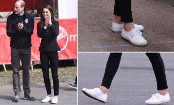 Kate Middleton laisvalaikio avalynė