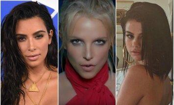 K. Kardashian, B. Spears, S. Gomez