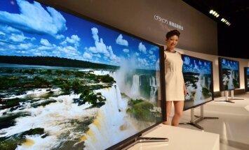 Sony pristato 84 colių įstrižainės 4K televizorių