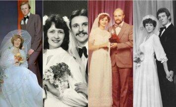 Politikų vestuvinės nuotraukos