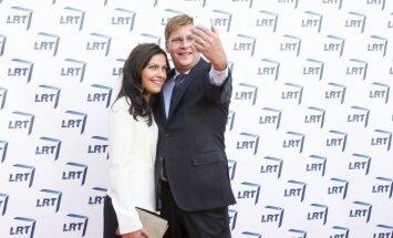 Juras Požela su žmona Živile