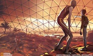 Kad įvyktų plataus masto evoliucinis nuokrypis nuo žmogiškųjų normų, tam tikra populiacija turėtų būti atskirta tūkstančiams metų. Tai taptų įmanoma įkūrus gyvenvietę Marse, kurioje būtų apie 100–150 daugintis tinkamo amžiaus asmenų. Atmosferoje, kur sunk
