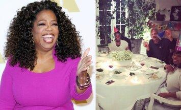 Oprah Winfrey, gimtadienio akimirka