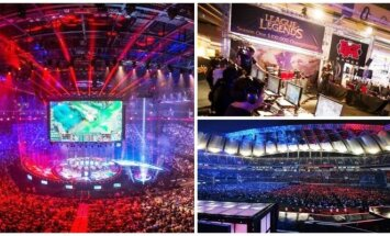 """eSporto varžybos įvariose pasaulio šalyse (""""Riot Games Inc."""" nuotr.)"""
