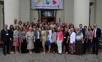 Pasaulio lietuvių bendruomenių ir jaunimo sąjungų pirmininkų suvažiavimas (Arūno Sartanavičiaus nuotr.)