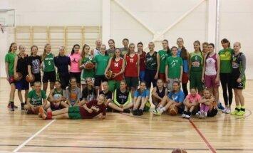 Krepšinio stovykla merginoms