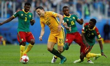 FIFA Konfederacijų taurė: Kamerūnas – Australija