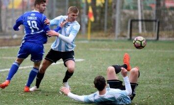 A lyga, Utenis - FK Jonava rungtynių akimirka