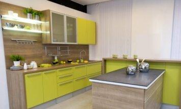 Virtuvės interjeras tiems, kas trokšta amžino pavasario